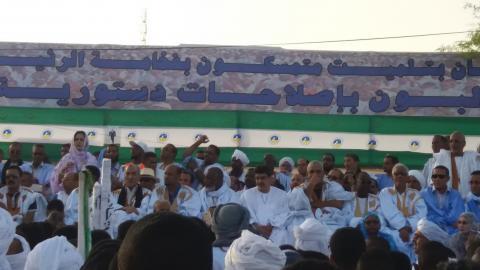 مهرجان حاشد في بتلميت دعما للتعديلات الدستورية